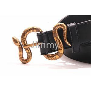 2021 Desinger New Mens Donne Black Belt Genuine Pelle Business Cinture di colore Pure Cintura di colore Snake Pattern Belt Belt per regalo