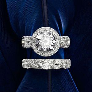 HBP fashion Shipai hand decoration luxury simulation diamond combination ring
