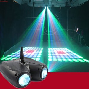 20W 64 128pcs RGBW LED Pattern Stage Light Double Head Airship Lamp Projector DJ Disco Party Lights Cool Effects Stage Lighting