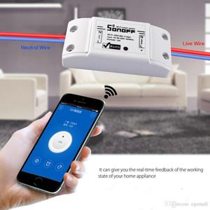 Sonoff 100-250V التحكم عن بعد واي فاي التبديل أتمتة المنزل الذكي / مركز واي فاي ذكي للتطبيق الضوابط المنزلية الذكية