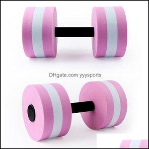 Barbells Equipments Supplies Sports & Outdoorswater Yoga Eva Dumbbell Men And Women Aquatic Aerobics Fitness Exercise Equipment Swimming Flo