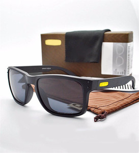 2021 Marke Polarized Designer Sonnenbrille Mode Sonnenbrille für Herren Frauen im Freien Winddichte Schutzbrillen mit Box OK9102 Top Qualität