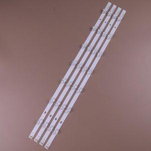 "4pcs 630mm 7leds LED Lámparas de luz de fondo Strips para LG 32 ""TV 32LS315H INNOTEK 32"" NDE LS3150 Array-0.1-7led-Rev0.2 331537502"