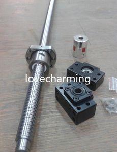 Ball Screw SFU1605 Antibacklash 1000mm+BK BF12+Nut Housing+6.35*10mm Coupler