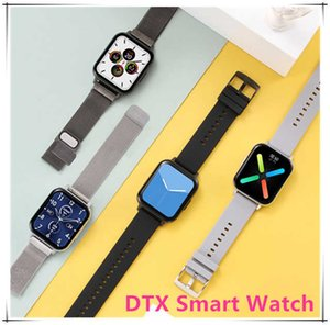 Smart Watch Dtx Ip68 Waterproof 1.78inch Colorful Screen Ecg Heart Rate Sleep Monitor Vs Dt78 Dt35 Luxurys Smartwatch for Men Women for Ios