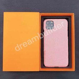 Cas de téléphone de mode pour iPhone 11 12 Pro Max 7 8 8 Plus x Couverture X XR XSMAX Coque en cuir PU Samsung S10 S20P Note 10 20 Ultra