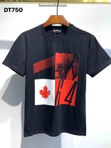 Dsquared2 Dsquared Dsq Dsq2 DQ Phantom Kaplumbağa 2020ss Yeni Erkek Tasarımcı T Gömlek İtalya Moda Tişörtleri Yaz Erkekler DQ T-shirt Erkek En Kaliteli 100% Pamuk Top 5883 GWD