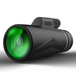 Suncore 12x42 단안 휴대용 비 - 야간 비전 망원경 넓은 필드 사냥 조류 관찰 여행 범위 연결 전화 렌즈