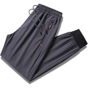 Men's Pants Plus Size Summer Nylon Track Men Sportswear Breathable Loose Fitness Sweatpants Black Casual Jogger Trousers 8XL 9XL K