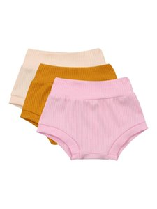 CitgeeSummer Cotton Shorts Baby Boys Girls Fashion Kids Harem Knitted Shorts Pure Color Kids Casual Short Sports Clothes