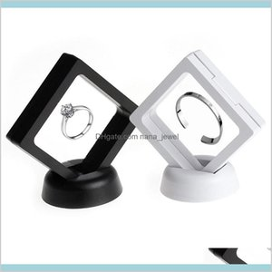 Suspended Floating Display Case Jewellery Coins Gems Artefacts Holder Stand Box Wfbcv Gkjfa