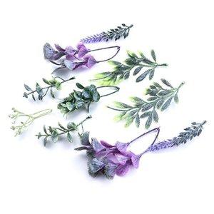 20pcs Vente en gros Plantes artificielles Mariage Accessoires de mariée Clairance Christmas Décorative Fleurs Couronnes Décor D Decor d QYLWPW