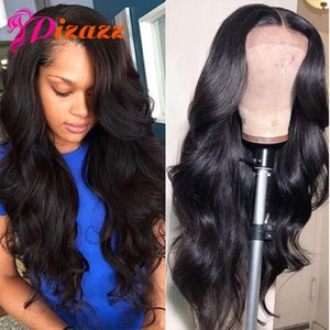 Lace Wigs Pizazz Front Human Hair For Black Women Preplucked 180% Density Remy 13X4 13X6 Brazililan Body Wave Frontal Wig