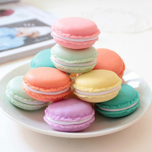 Cute Candy Color Macaroon Jewelry Box case Package For Earrings Ring Necklace Pendant Small Jewelry Packaging Mini Cosmetic Jewelry
