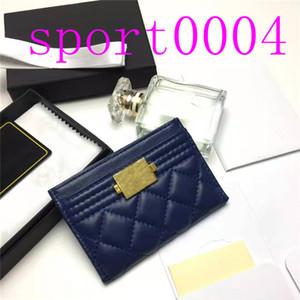 2021 Luxus Top Qualität Echtes Leder Kartenhalter mit L ID Kreditkartenmappe Münze Geldbörse Damen Leder ID Karteninhaber und Fall