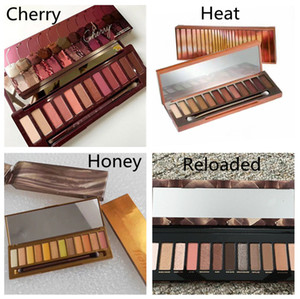 Hot Classic Makeup Palette Heat Cherry RELOADED honey 12colors Eye shadow mix NUDE eyeshadow palette High Quality