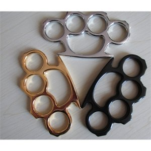 Steel Knuckle Brand Brass New Gilded Duster Color Black Plating Silver Hand Tool Clutch Drop Shipping
