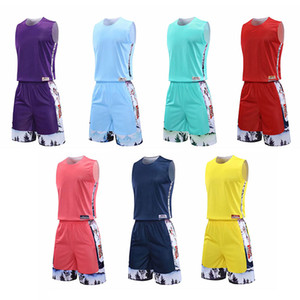 20 21 jersey color matching oversize basketball uniform suit men and women summer custom printing competition sports uniform