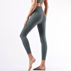 womens yoga pants High Waist Sports Raising Hips Gym Wear yoga lu leggings yoga pants leggings yogaworld women workout fitness Full Tights