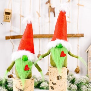 Christmas Decoration Christmas Red Love Grinch Faceless Doll Christmas Decoration Ornaments Home Decoration Accessories Adornos OWD10452