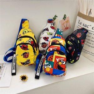 Lindo diseñador de lujo bolso de hombro niños bolsos de pecho Messenger Bolso Crossbody Bag Niños Mochilas Sésamo Calle Personalizado Bolsa de pecho