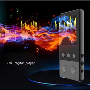 A5 8GB Bluetooth MP3 Player Earphones HiFi FM Radio Sport MP4 Portable Music Players Voice Recording Recorder Support max 64G TF Card