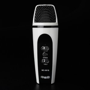 3.5mm Handheld Wired Microphone KTV Condenser Microphones Cellphone Computer Recording Mobile Phone Microphone for iOS Android