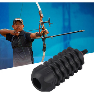 Hunting Arrows Archery Stabilize Compound Bow Stabilizer Rubber Accessories Screw Inner Diameter 0.20 Inch jllrFh xmh_home
