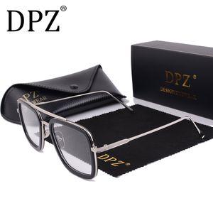 2019 dpz flight 006 stil sonnenbrille männer square luftfahrt marke design sonnenbrille oculos de sol uv400 0222