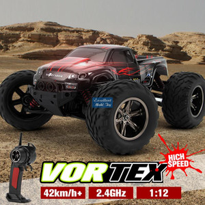 EMT OR4 1 12-2.4G-Remote Control 42Km h Monster Truck, 4WD Off-road Car, Differential Gear, Cool Drift, 4-Shock Absorbers, Kid& Boy Gift,2-1