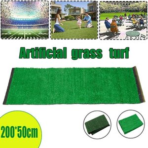 2*0.5M Artificial Lawn Outdoor Rug Synthetic Fake Turf Lawn Simulation Moss Turf Artificial Grass Decor Accessories For Garden