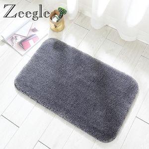 Carpets Zeegle Living Room Carpet Bedroom Rug Anti-slip Soft Modern Bedside Mat Fluff Kids Absorbent Foot