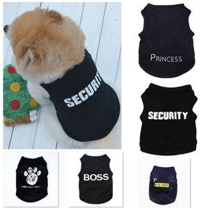 5 Stili Summer Dog Vestiti Abbigliamento Abbigliamento Abbigliamento Cat Vest Nuovo Maglione Piccolo Maglione Pet Fornitura Cartoon Abbigliamento T Shirt per cucciolo tuta a buon mercato Outfit XD22318