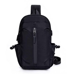 Cross body bag Men Nylon Plain Casual Sports Oxford Chest Bag Fanny Packs Small Crycling Messenger Bag Outdoor