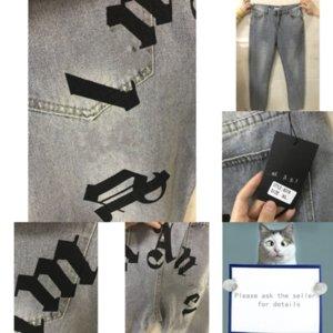 VNFJD Mens Harem Pantaloni Denim Jeans Designer Fashion Washed Coulisstring per uomo Elastic Waist Jean Jeans Pantaloni Denim Pants Plus