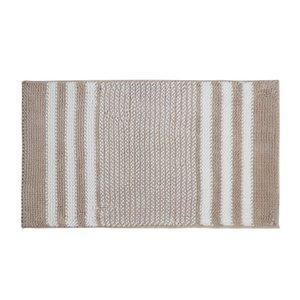 Полоса Chenille Carpets Ванная комната Абсорбирующие входные входные коврики Ручная машина Моющийся Домашний текстиль Мода Простой коврик