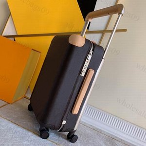 Classic Travel Suitcases Luggage Fashion Men Women Trunk Bag Flowers Letters Baggage Draw bar box Spinner Universal Wheel Duffel Bags
