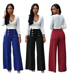Womens Wide Legging Pants Sets Loose Solid Color Trousers Sexy Slim Drawing Long Sleeve T Shirts Autumn Fashion Women 2pcs Outfit