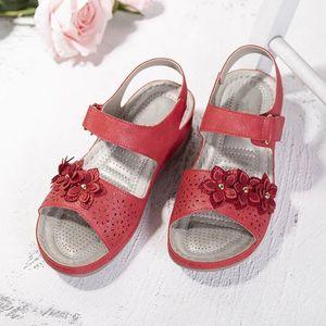 MCCKLE Women Sandals Summer Retro Shoes Wedges Casual Ladies Vintage Sandals Platform Plus Size Woman Fashion Footwear 2021 210310