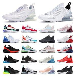 air max 270   calidad para hombres triple negro blanco rosa Wine zapatillas deportivas para mujer entrenador Transpirable moda vintage tamaño 36-44