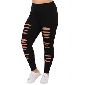 Fashion Plus Size Leggings women Sexy Leggings Trousers Sport Hole Casual Pants Sexy Leggins Ropa Mujer Dropshipping