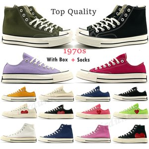 Classic Campus Joker Canvas 1970s Play Big Eyes casual Shoes platform Jointly Name chuck 70 Triple Black White High Low Mens Women chucks 1970 Sport star Sneakers
