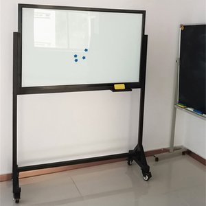 Mobile Magnetic Glass Whiteboard 8mm Thick, High Quality, High Safety, Sturdy and Reinforced Explosion-proof Glass