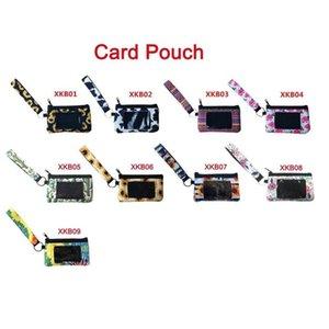 Neoprene ID Card Bag Sunflower Credit Card Holder PVC Zipper Wristlet Pouch Neoprene Mini Wristlet Wallet Neoprene for Women Girls GWD10244