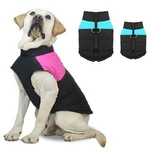 Köpek Sıcak Yelek Pet Köpek Yelekler Palto Tasmalar Yüzükler Ile Pet Köpek Giysileri Yumuşak Sonbahar Kış Pet Yelek YHM117