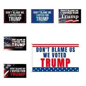 Party Supplies Trump flags 2024 US presidential election flag DONT BLAME ME I VOTED FOR TRUMP 90*150cmY2147