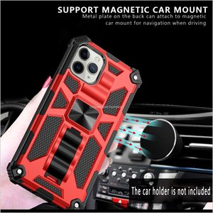 For Samsung Galaxy S21 Ultra S21 Pro S21 S30 Ultra Hybrid Armor Invisible Kickstand Magnetic Phone Case Shockproof Cover D1 85Gkb X2Yih