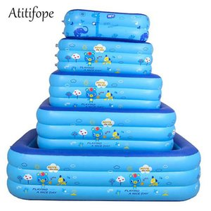 Baby inflatable pool small size can be bath tub big size can be swimming pool good kids birthday gift ball pit for outdoor use X0710