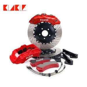 KLAKLE Designer Brake Kit 18Z Brakes Caliper 380*32MM Racing Car Floating Style Front Rim 20 For Lexus LX570 2008