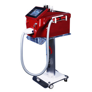 2021 Nwe Professional Q Switched Nd YAG Laser Tattoo Removal Machines Skin Care Eyebrow Cleaner Pigment Freckle spots removal equipment